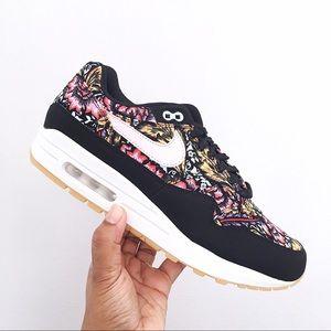 Nike Air Max 1 Qs Floral Print Pink Women's Shoes